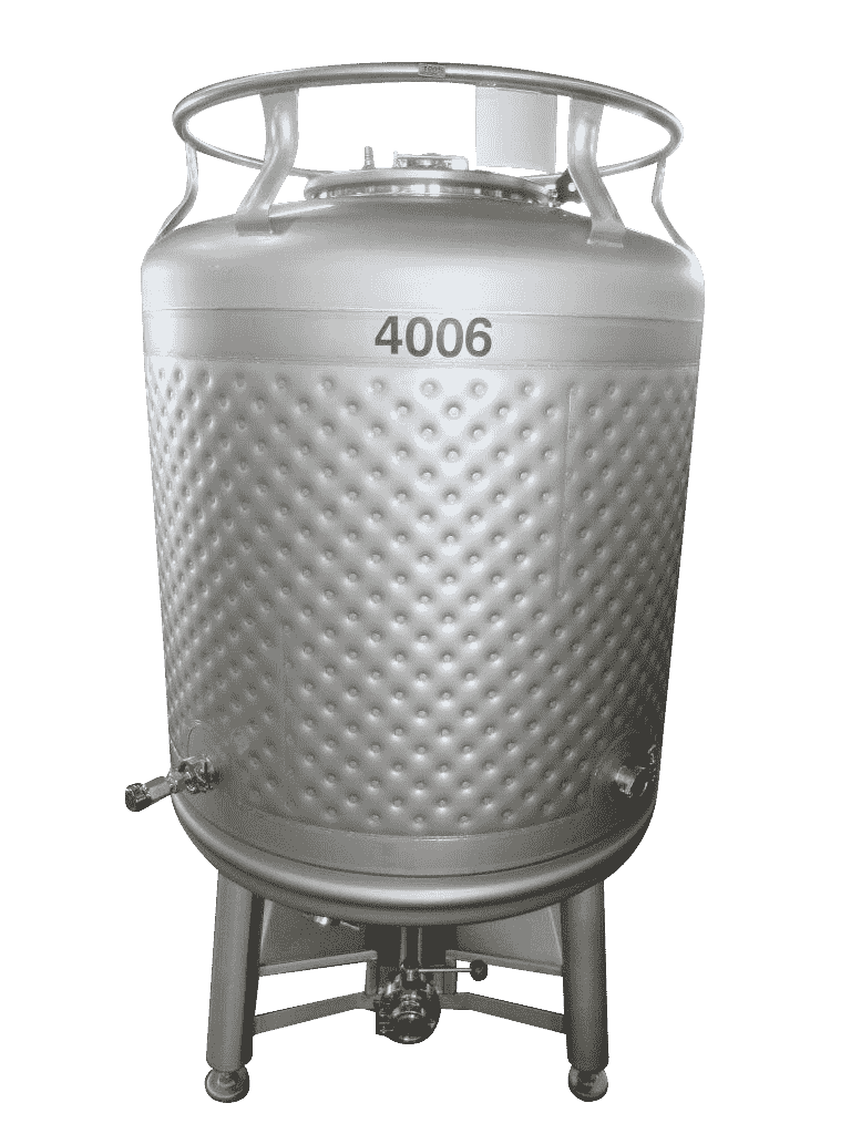 900 Liter Jacketed
